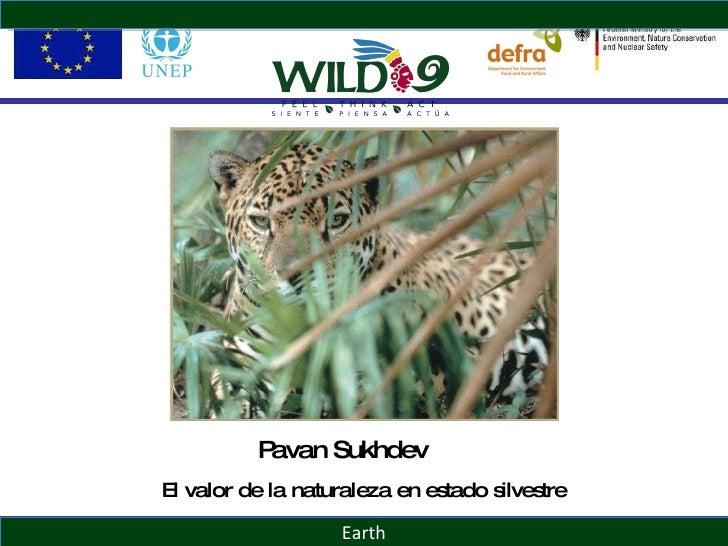 Earth Pavan Sukhdev El valor de la naturaleza en estado silvestre