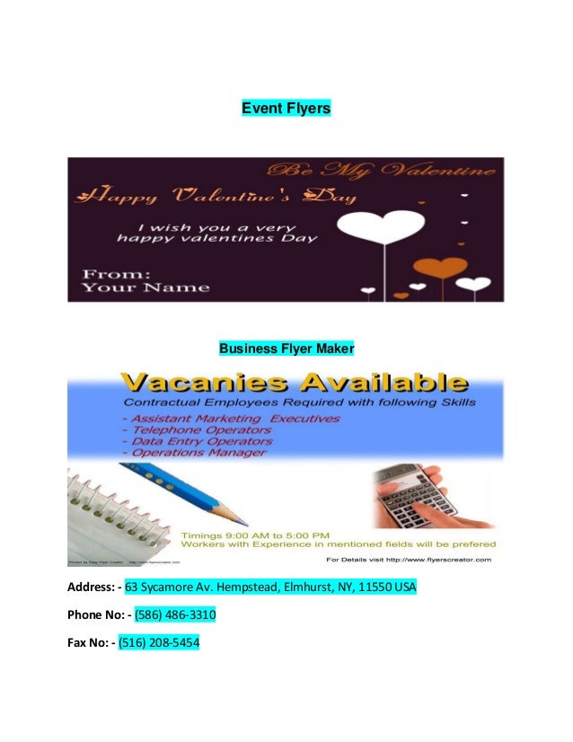 Easy Design Flyer Creator