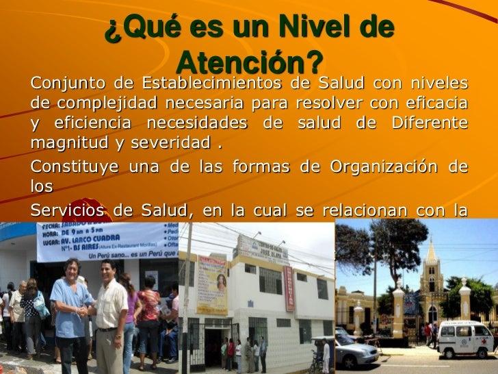NIVELES DE ATENCIÓN EN SALUD I Slide 3