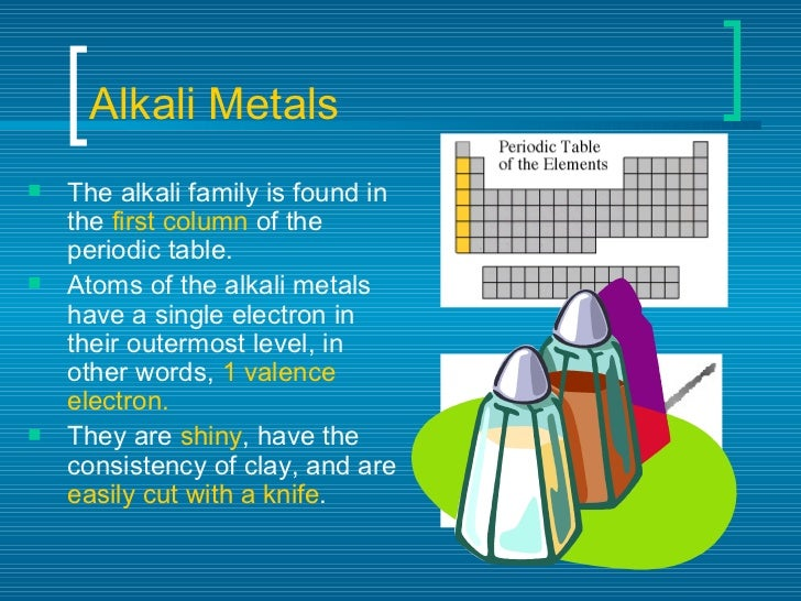 Periodic table of elements alkali metals urtaz Image collections