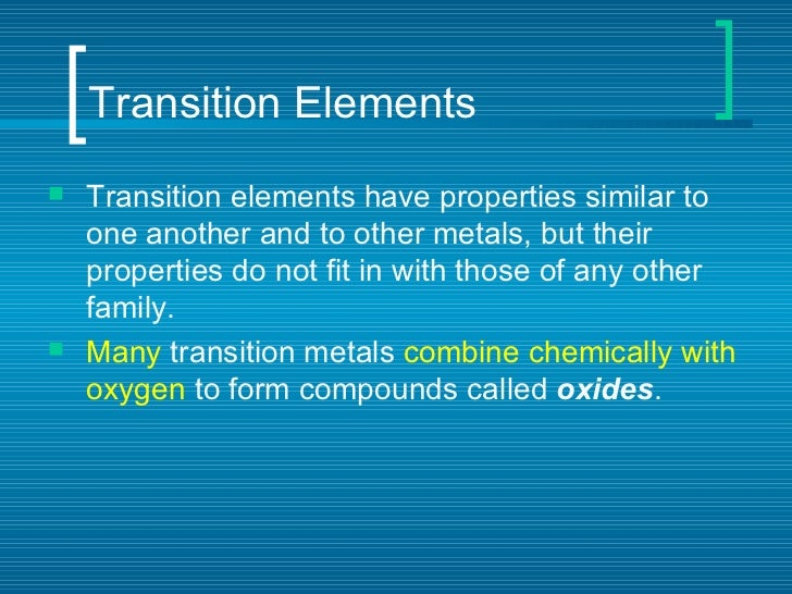 Periodic table of elements transition urtaz Images