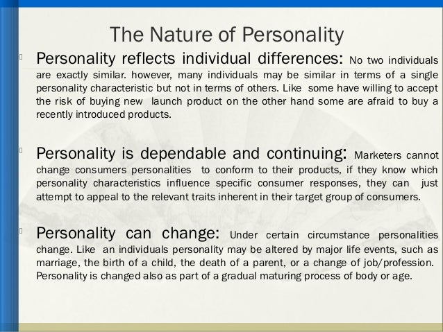 Is Personality A Product Of Nature Or Nurture