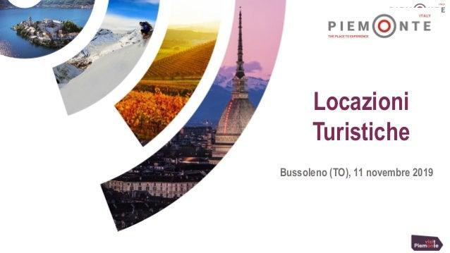 Locazioni Turistiche Bussoleno (TO), 11 novembre 2019