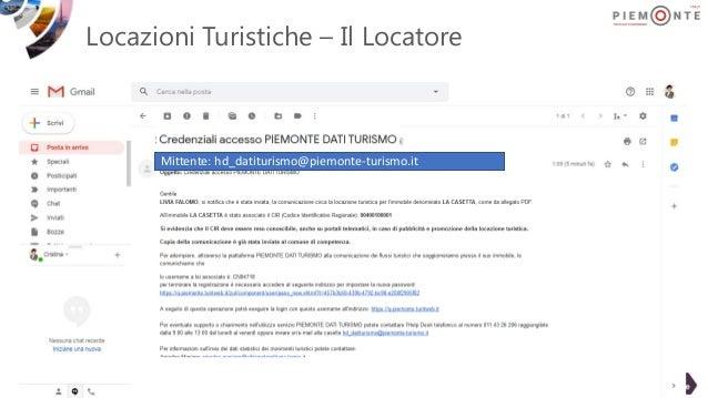 Locazioni Turistiche – Il Locatore Mittente: hd_datiturismo@piemonte-turismo.it