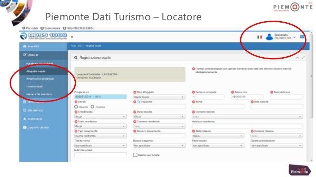 Piemonte Dati Turismo – Locatore
