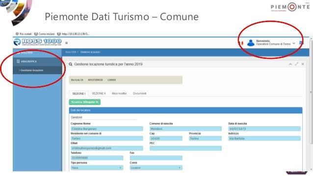 Piemonte Dati Turismo – Comune