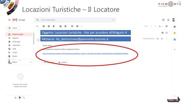 Locazioni Turistiche – Il Locatore Oggetto: Locazioni turistiche - link per accedere all'Allegato H Mittente: hd_datituris...