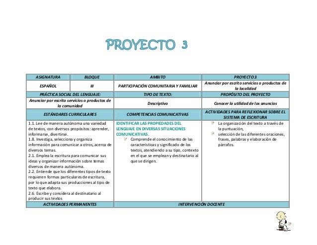 PLANEACION DE 1ER AÑO DE PRIMARIA BIMESTRE 3