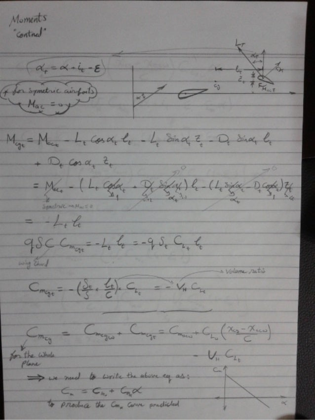Ahmed Hashim Flight Mechanics Notes