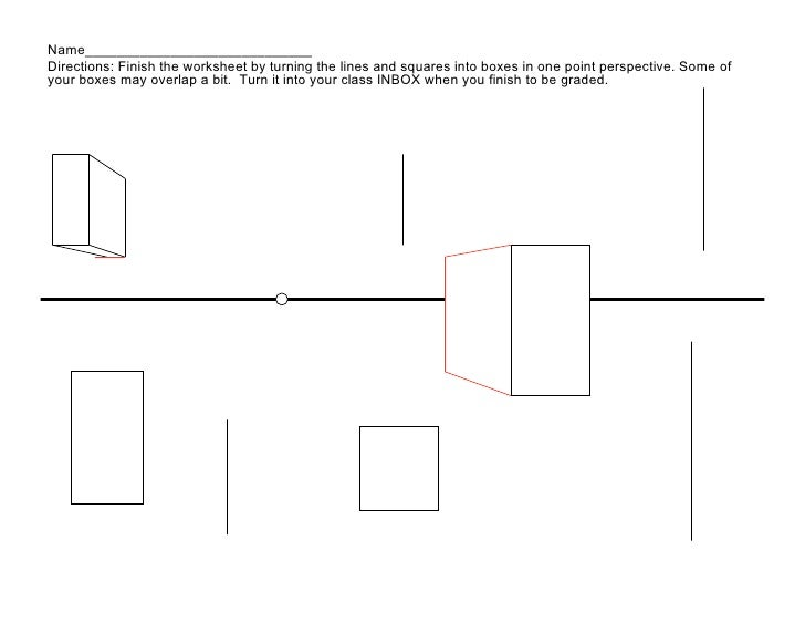 One Point Perspective Worksheet Rringband – The Virtual Cell Worksheet Answers