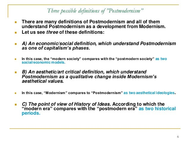 an introduction to the history of postmodernism Postmodernist approach to the discipline of history history education, postmodernism 1 introduction.