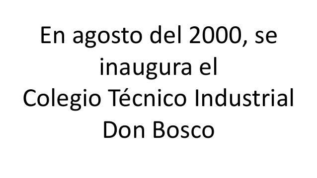 Asociación de Industriales de Antofagasta  + =  Arzobispado de Antofagasta  Fundación Educacional Región de la Minería  Co...