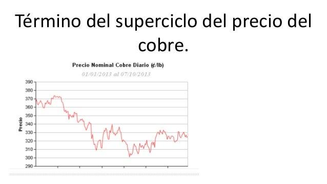 Situación actual industria minera en Chile: pérdida de competitividad en el concierto mundial  Disminución de leyes: en e...