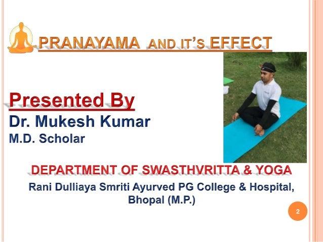 Pranayama Slide 2