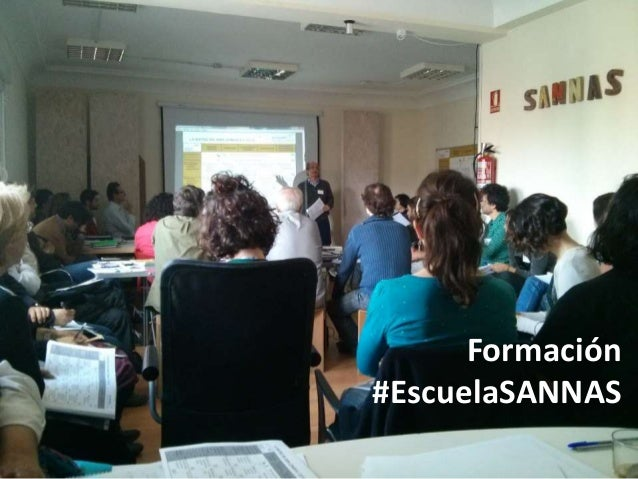 Formación #EscuelaSANNAS