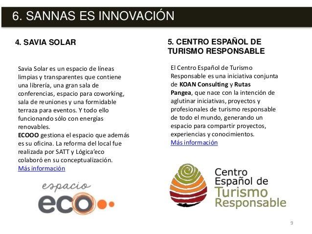 6. SANNAS ES INNOVACIÓN 9 Savia Solar es un espacio de líneas limpias y transparentes que contiene una librería, una gran ...