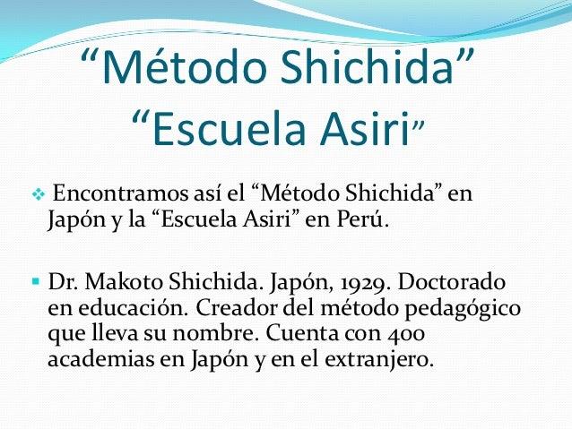 metodo shichida