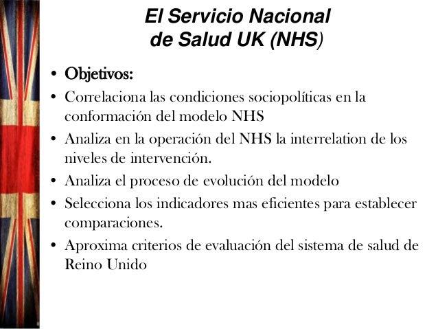 1 Sistema de salud de Reino Unido  Análisis 1.42 Slide 2
