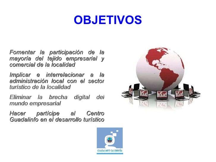 Para que la empresa aparezca dentro del directorio del Ayuntamiento, será necesario tener presencia en Internet por medio ...