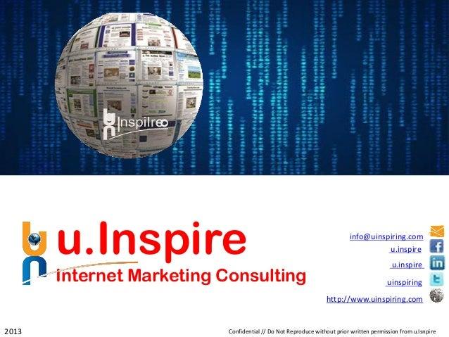 u.Inspire                                                         info@uinspiring.com                                     ...