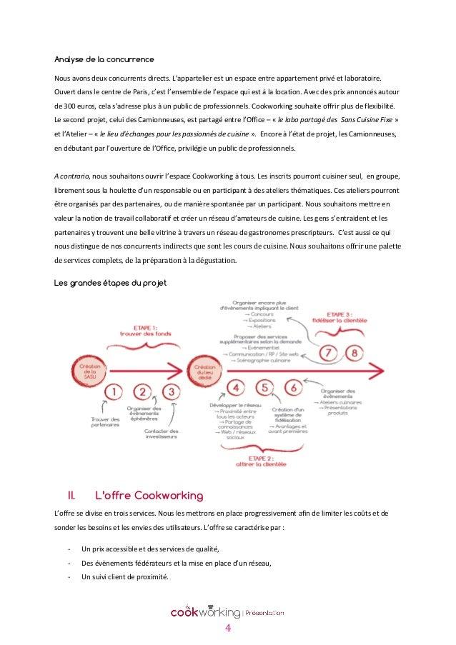 Cookworking pr sentation du concept de cuisine partag e - Organisation du travail en cuisine ...