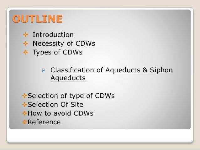 presentation : cross drainage work Slide 3