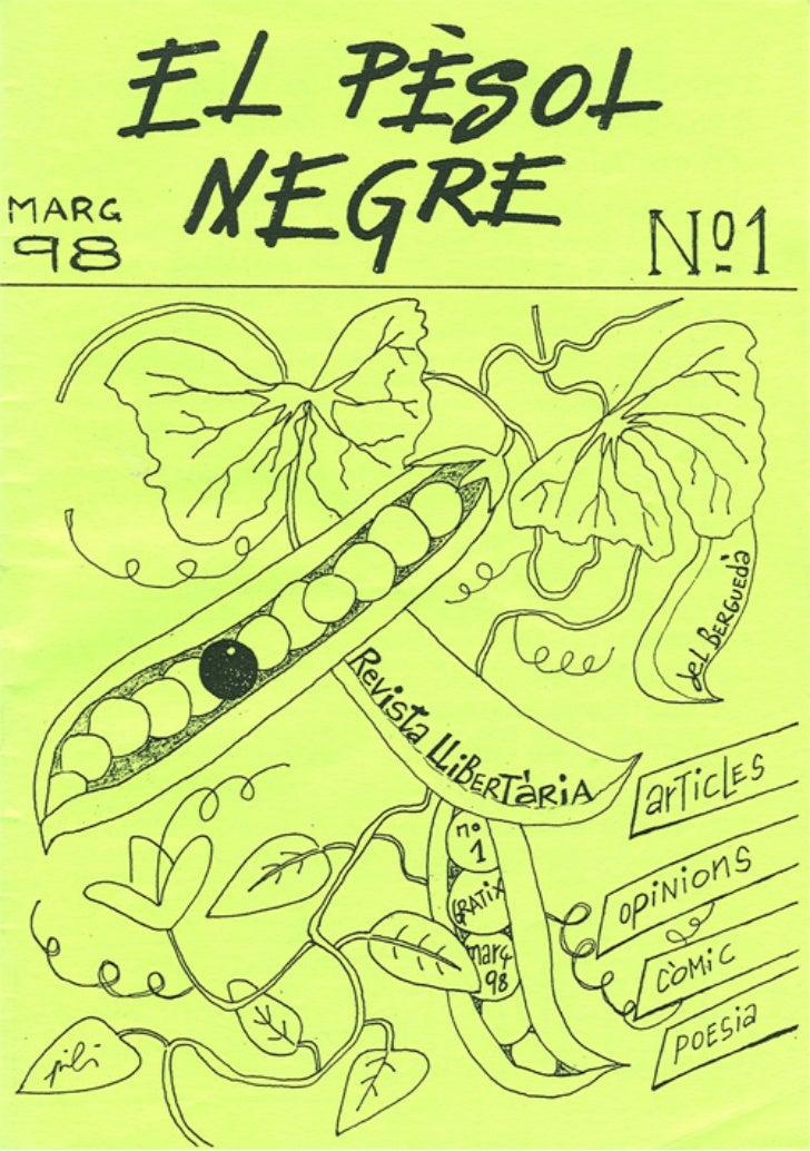 El Pèsol Negre. Número 1. Març 2008 (1a època)