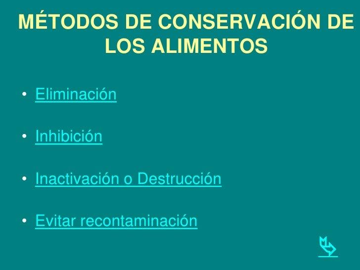1 principios fundamentales de la conservacion y procesado de Slide 3