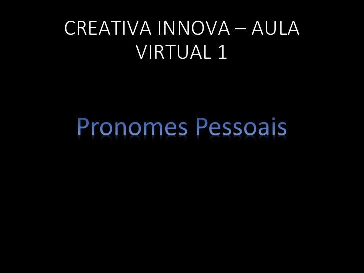 CREATIVA INNOVA – AULA       VIRTUAL 1