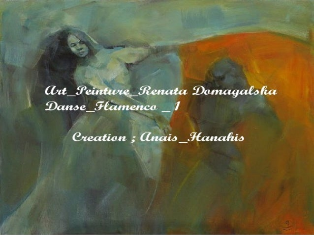 art peinture renata domagalska_danse flamenco _ 1 _ by Anais_Hanahis