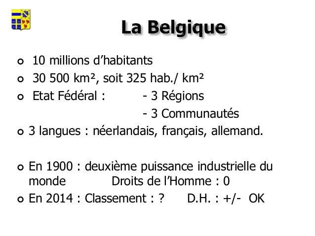 Régions, Communautés, Bruxelles