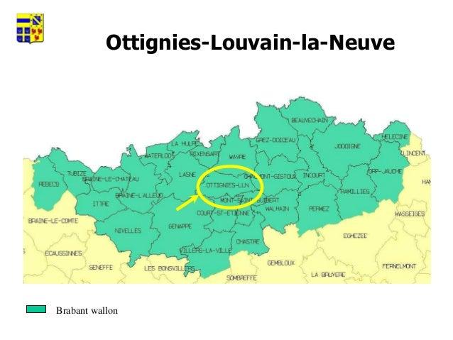 Ville d'Ottignies-Louvain-la-Neuve.