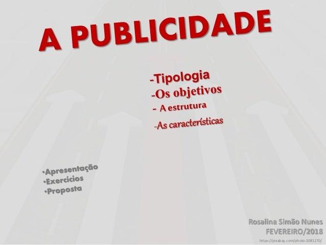 Rosalina Simão Nunes FEVEREIRO/2018 https://pixabay.com/photo-2081170/