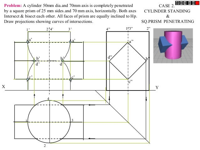 Intersection - ENGINEERING DRAWING