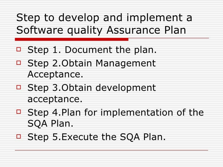 essay on quality assurance Quality assurance and quality control in research of quality assurance and the development of quality systems in everyday numerous papers have been.