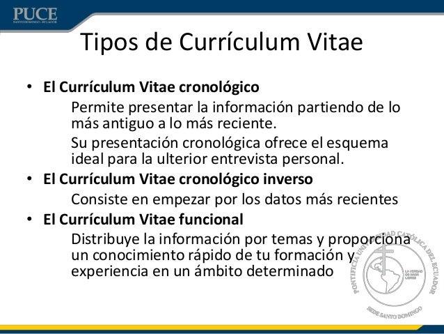 que es el curriculum vitae funcional