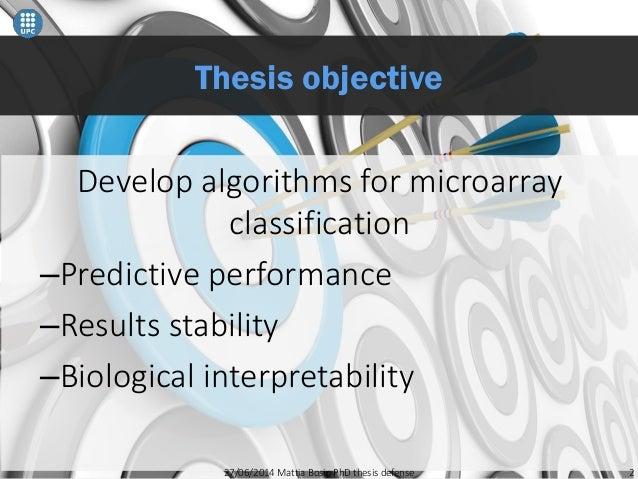Phd dissertation proposal presentation
