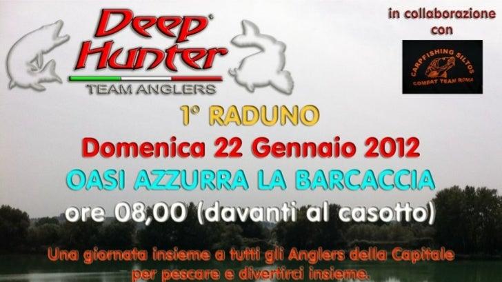 1° Raduno Carpfishing