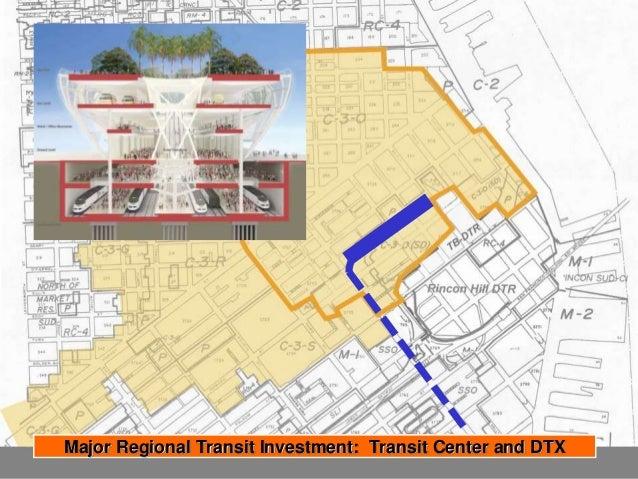 Targeted Growth Around Primary Regional Transit Hub