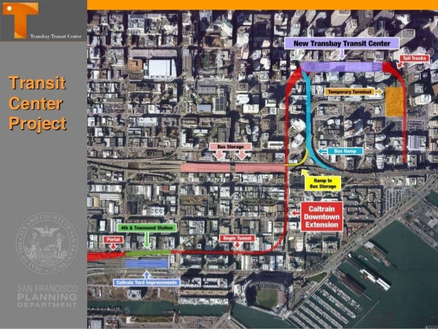 Transit Center District Plan Area Private and Public parcels around Transit Center, including Transbay Redevelopment Area ...