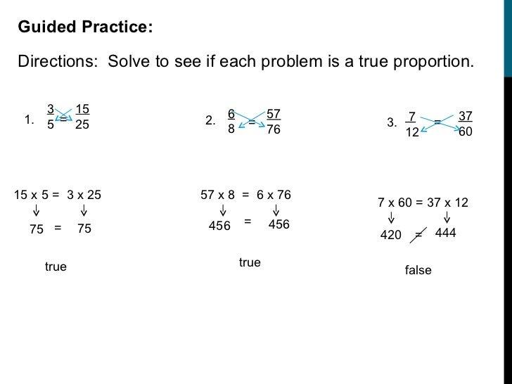 Solving Proportions Worksheet | Homeoutsidethebox.com