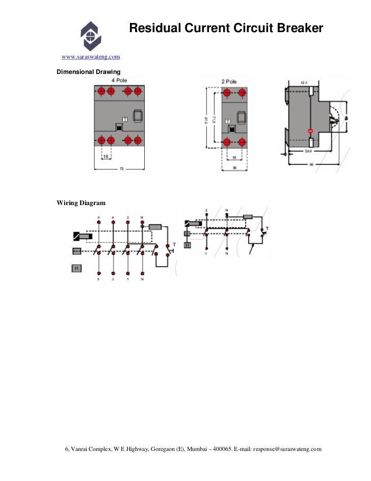 1 residual current circuit breaker rccb elcb rh slideshare net wiring diagram of rccb datasheet wiring diagram of rccb datasheet