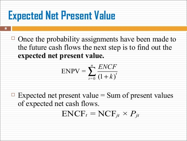Net Expected Value