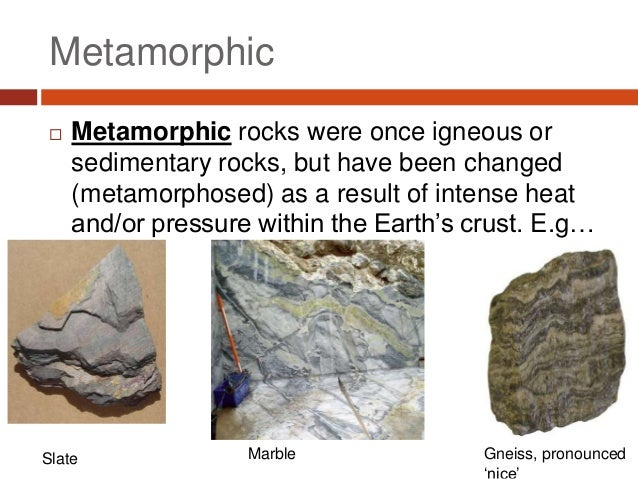 rock types Just as any person can be put into one of two main categories of human being,  all rocks can be put into one of three fundamentally different types of rocks.