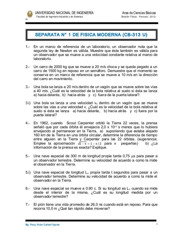 UNIVERSIDAD NACIONAL DE INGENIERÍA                    Area de Ciencias Básicas         Facultad de Ingeniería Industrial y...