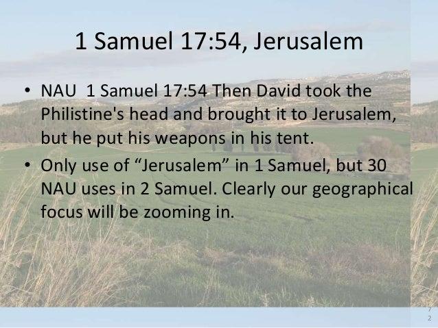 1 Samuel 17, The Valley of Elah