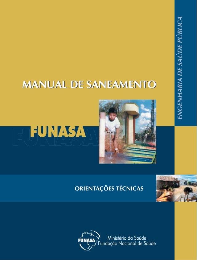MANUAL DE SANEAMENTOMANUAL DE SANEAMENTO