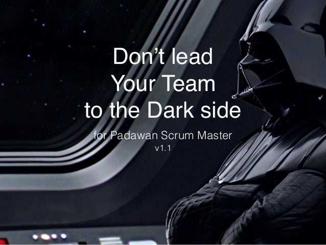 Don't lead 