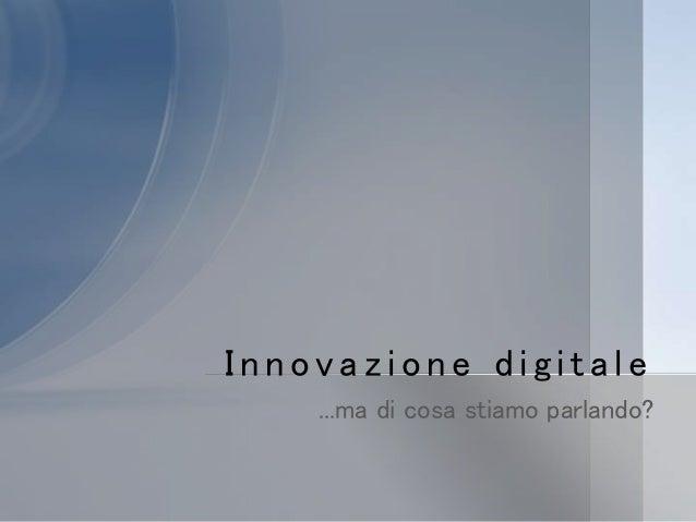 1 scuola digitale Slide 2