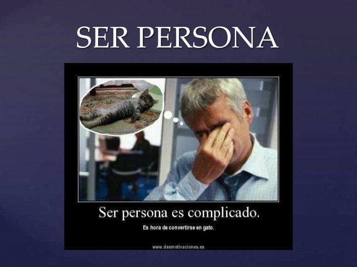 SER PERSONA{